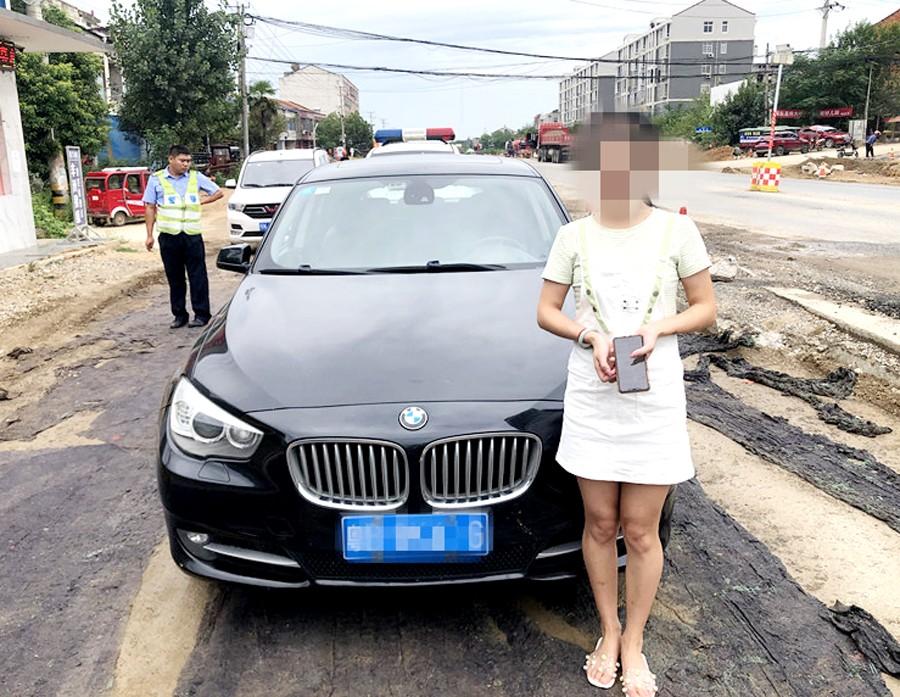 中国纪录|湖北孝昌交警大队查获一台公安部交管局督导套牌车
